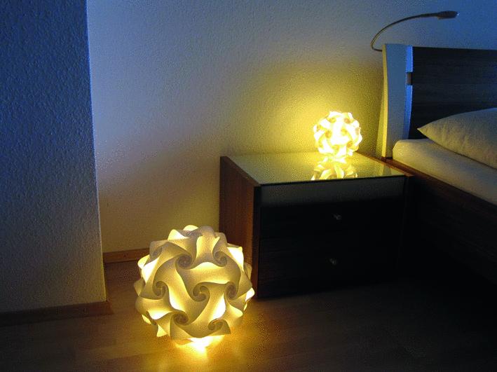 Trendlampe Puzzlelampe Aus Einzelnen Elementen F 252 R Tolle